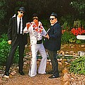 Elvis and the Blues Print by Randy Rosenberger