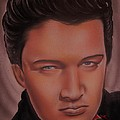 Elvis Presley Poster by Terrence ONeal