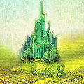 Emerald City Print by Mo T