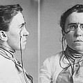 Emma Goldman 1869-1940 Mugshots. She Print by Everett