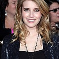 Emma Roberts At Arrivals For The Print by Everett