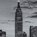 Empire State Building Morning Twilight IV Print by Clarence Holmes