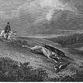 ENGLAND: COURSING, 1833 Print by Granger