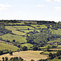 English countryside panorama Poster by Jane Rix