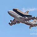 Enterprise Space Shuttle  Poster by Susan Candelario