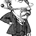 Ernest Rutherford, Caricature Poster by Gary Brown