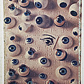 Eyes on braille page Print by Garry Gay