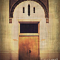 Faded Doorway Print by Perry Webster