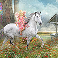 Fairytales and Wishing Wells Print by Trudi Simmonds