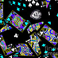 Fall of The House of Cards Print by Wingsdomain Art and Photography