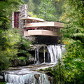 Falling Water Print by Scott Melby
