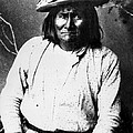 Famous Apache Leader, Geronimo Print by Everett