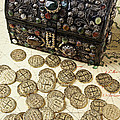 Fancy Treasure Chest  Poster by Garry Gay