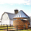 Farm Life Print by Todd Hostetter