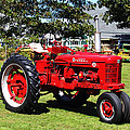 Farmall at The Country Fair Poster by Andrew Pacheco