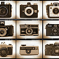 Film Camera Proofs 1 Print by Mike McGlothlen
