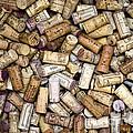 Fine Wine Corks Poster by Frank Tschakert