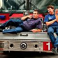 Fire engine one Poster by Vincent Cascio