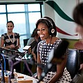 First Lady Michelle Obama Does An Poster by Everett