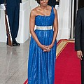First Lady Michelle Obama Wearing by Everett