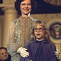 First Lady Rosalynn Carter And 10 Year Poster by Everett