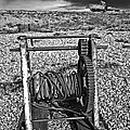 fishing boat graveyard 8 Poster by Meirion Matthias