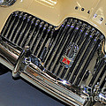 FJ Holden - Front end - grill Poster by Kaye Menner