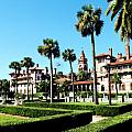 FLAGLER COLLEGE Poster by Addison Fitzgerald
