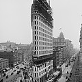 Flatiron Building During Construction Poster by Everett