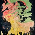Folies Bergeres Poster by Jules Cheret