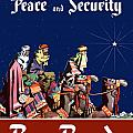 For Peace and Security Buy Bonds Print by War Is Hell Store