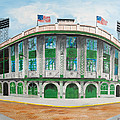 Forbes Field Poster by Paul Cubeta