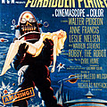 Forbidden Planet, Left Robby The Robot Poster by Everett