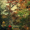 Forest Vintage Print by Angela Doelling AD DESIGN Photo and PhotoArt