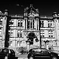 former kilmarnock technical school and academy building now academy apartments scotland uk Poster by Joe Fox