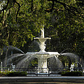 Forsyth Fountain 1858 Poster by David Lee Thompson