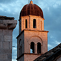 Franciscan Monastery Tower at Sunset Print by Artur Bogacki