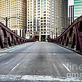 Franklin Orleans Street Bridge Chicago Loop Print by Paul Velgos