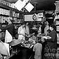 Fred Grovers Grocery Store Poster by Photo Researchers