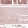 Freedom To Slaves Poster by Photo Researchers, Inc.