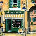 French Creperie by Marilyn Dunlap