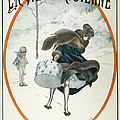 FRENCH MAGAZINE COVER Poster by Granger