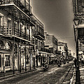 French Quarter Ride Print by Greg and Chrystal Mimbs