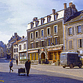 French Village Print by Chuck Staley
