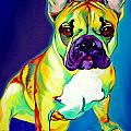 Frenchie - Tugboat Print by Alicia VanNoy Call