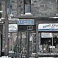 Friperie Point Couture Pte St. Charles Poster by Reb Frost