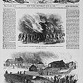 Front Page Of A Newspaper Reports Print by Everett