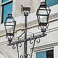 Front Street Lamp Print by Brenda Bryant