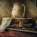 Furniture - Table - The Water Pitcher Print by Mike Savad
