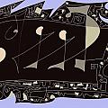 Galley slaves Print by VALERIE BENEDETTI